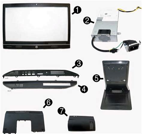 Spare Part Pc hp compaq elite 8300 all in one desktop pc series spare parts hp 174 customer support