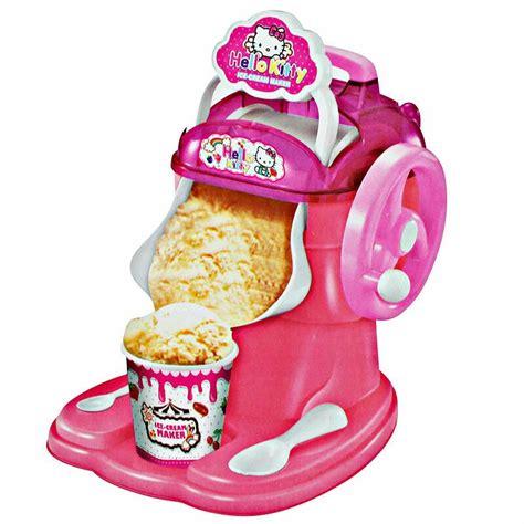 cara membuat es krim hello kitty jual hello kitty ice cream maker pembuat es krim
