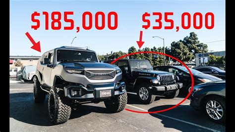 jeep tank the rezvani tank is the 200 000 modified jeep from the