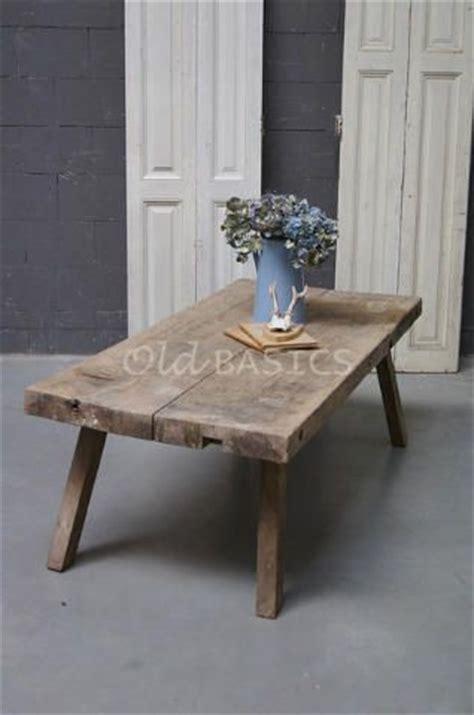 leuke houten salontafel 25 beste idee 235 n over oude salontafels op pinterest
