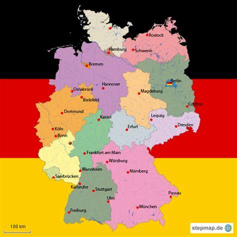 Deutsches Büro Grüne Karte Adresse by Deutschlandkarte Koelner95 Landkarte F 252 R Deutschland