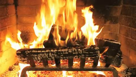 Animated Fireplace by Scroll For Info
