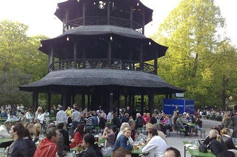 biergarten münchen englischer garten tourismus freizeit in m 252 nchen