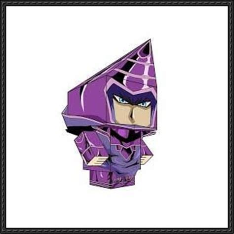 Yugioh Papercraft - new paper craft yu gi oh magician cube craft
