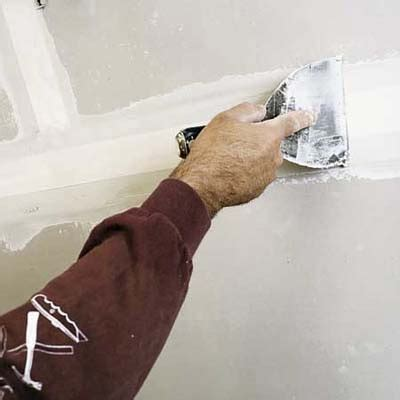smooth how to finish drywall this house