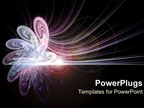 powerpoint template pink and purple energy as conceptual