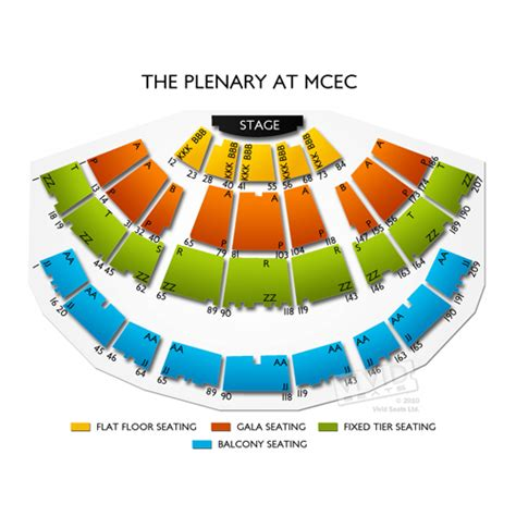Melbourne Convention Centre Floor Plan the plenary at mcec seating chart vivid seats