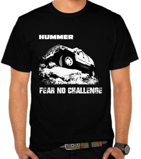 Kaos Vintage Replace Fear Combed 24s jual kaos hummer fear no challenge mobil road