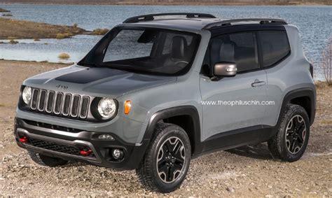 Renegade Jeep 2015 2015 Jeep Renegade 3 Door Rendering Autoevolution