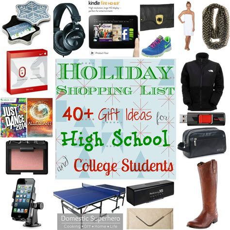 Gift Card Ideas For College Students - holiday shopping list 40 gift ideas for high school and college students part 2