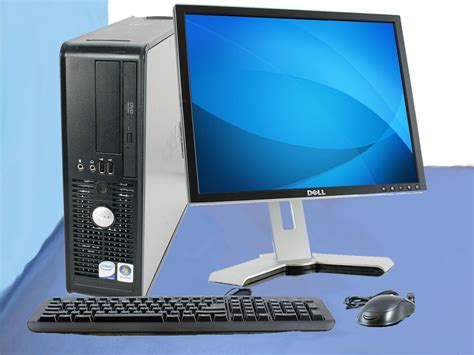 cheap dell computer optiplex desktop pc dvd 80gb office
