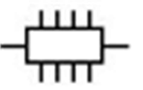 intergrated circuit symbol component symbols electronic components schematics circuits symbols electronics hobby