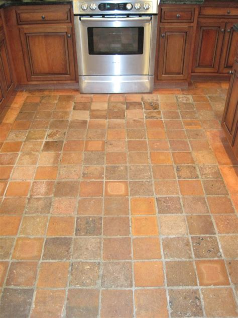 Kitchen Floor Tiles Designs Great Style Kitchen Interior Design With Small Square