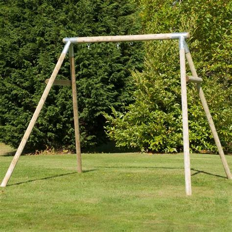 Tp Knightswood Double Swing Frame Tp 802 Outdoor Play