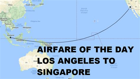 airfare of the day united airlines los angeles to singapore economy class 384 non stop