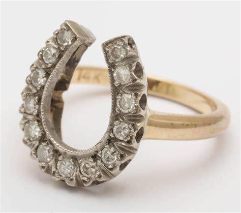 late horseshoe ring at 1stdibs