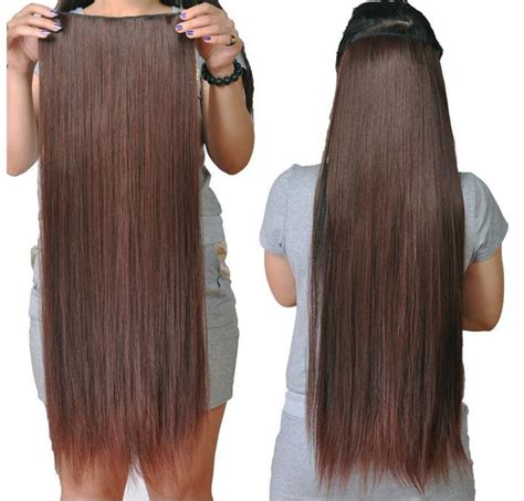 synthetic hair extension 60cm hair extensions one hair
