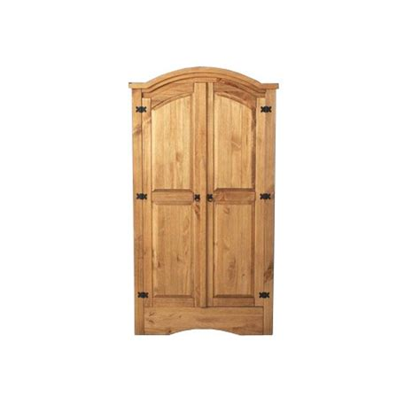 Mexican Pine Wardrobes by Corona Mexican Pine Furniture Corona Arched Wardrobe 297