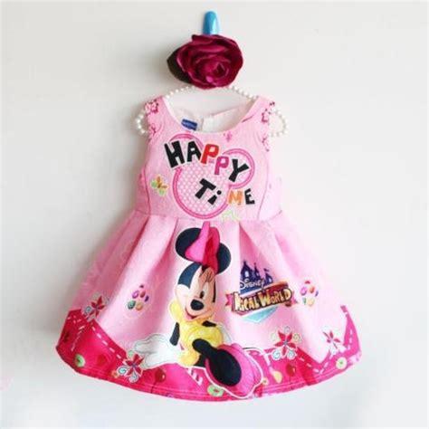 Amena Setelan Anak Motif Mickey jual baju dress pakaian anak cewek cantik dan lucu