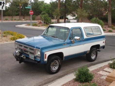 1976 gmc jimmy for sale find used 1976 gmc jimmy blazer 4x4 all original 400 v8