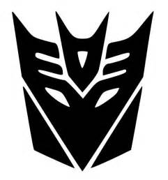 transformers decepticon logo google search silhouette