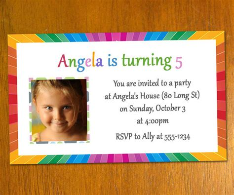 printable birthday invitations  premium