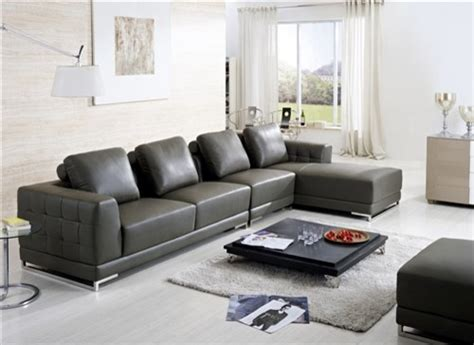 Omano Leather Sectional Sofa Clearance Sale Asian