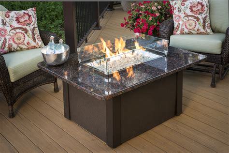 tables with pits new for 2013 grandstone pit table official outdoor