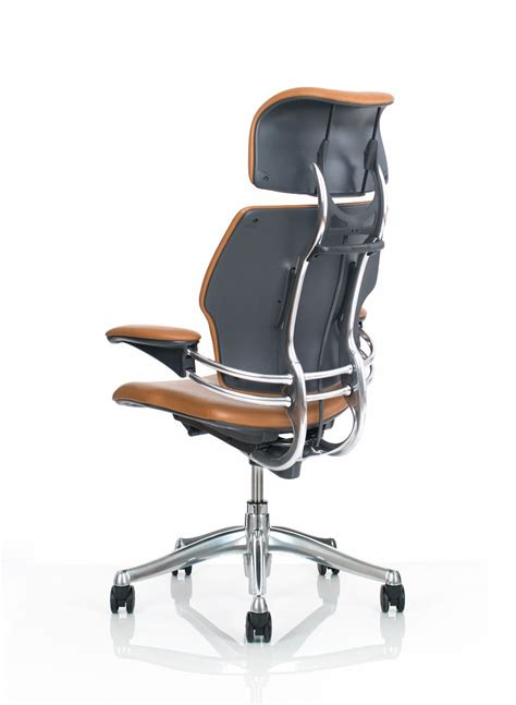 desk chair with headrest freedom task chair with headrest ergonomic seating from