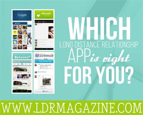 Apps For Distance Relationships Which Distance Relationship App Is Right For You