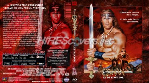conan the destroyer dvd cover dvd cover custom dvd covers bluray label movie art blu