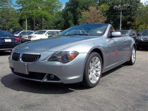 Bmw 650i Specs by 2006 Bmw 6 Series 650i Convertible Data Info And Specs
