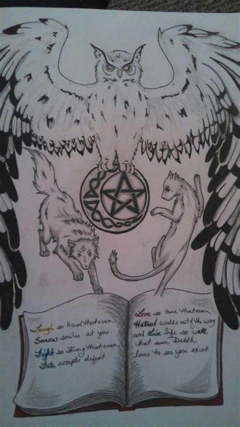 animal tattoo book animal totem and book tattoo design by zmajgoddess04 on