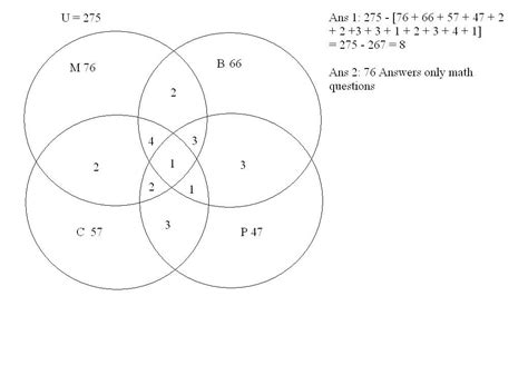 venn diagram questions with answers can this question be answered venn diagrams sets