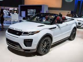 new car usa 2017 range rover evoque convertible unveiled in l a