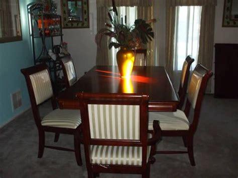 dark cherry dining room set  sale  middletown