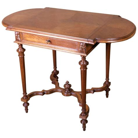 Drop Leaf Side Table Louis Xvi Style Drop Leaf Side Table At 1stdibs
