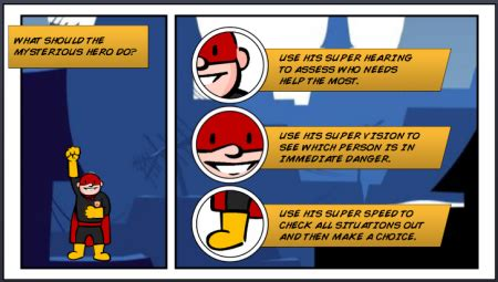 have you seen these comic book style e learning exles