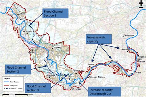 river thames flood plain map grave threat to flood risk improvements sunbury matters