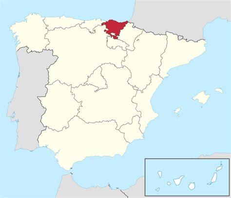 pas vasco the file pais vasco in spain plus canarias svg wikimedia commons