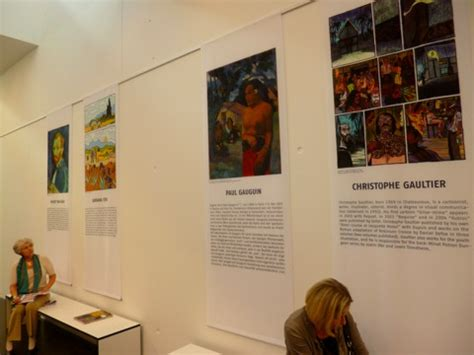 artist biography exhibition art comics paul gravett