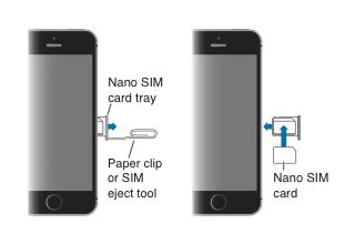 remove or switch the sim card in your iphone or apple support