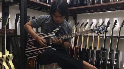 gitar schecter synyster gates tes sound distorsi