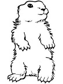 groundhog coloring page groundhog day coloring page standing groundhog ground