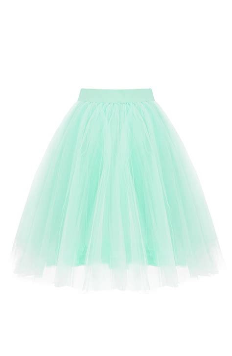 Rok Tutu 1 3th tule rok mint luxury the musthaves