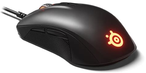 Steelseries Rival 110 steelseries rival 110 is a serious mouse with a small