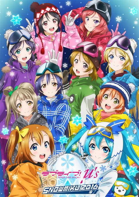 Poster Vocaloid Character Hatsune Miku Greatest Idol crunchyroll hatsune miku and quot live quot team up for snow miku 2016 festival