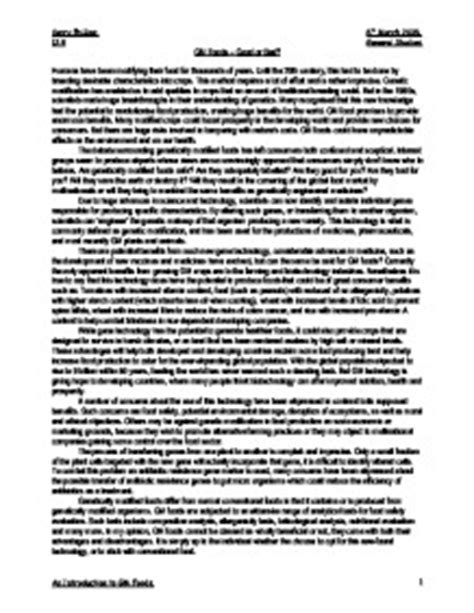 Genetically Modified Food Essay by Against Genetically Modified Foods Essay Mfacourses887 Web Fc2