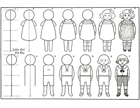 how todraw a 12 year old boy draw some kids activity page the graphics fairy