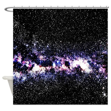 galaxy shower curtain purple galaxy shower curtain by ylimedesign